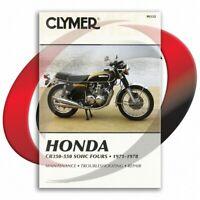 1972-1974 Honda CB350F Repair Manual Clymer M332 Service Shop Garage