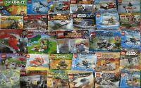 LEGO SETS STAR WARS DC MARVEL CITY Friends DISNEY Harry Potter Ninjago