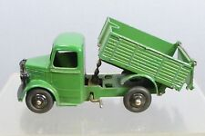 "DINKY TOYS MODEL No.25m  BEDFORD END TIPPING  TRUCK   "" GREEN VERSION """