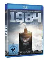 1984 [Blu-ray] (George Orwell) Rare German Import Movie John Hurt Richard Burton