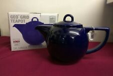 London Pottery GEO Griglia Cobalt Blue Tea Pot 4 Cup 1.1 LITRI