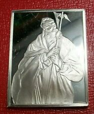 Saint Jude~El Greco Apostle Portraits By Franklin Mint 1.25 Troy oz.925 Silver