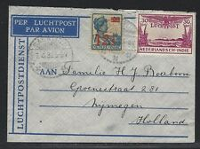 1932 Netherlands Indies Air Mail Cover – Salatiga to Holland