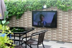 """KinYtech 32"""" to 43"""" LCD outdoor tv enclosure cabinet box case cover waterproof"""