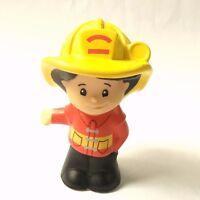 Cute Fisher-Price Little People Fire Station Fireman Koby figure Boy toy gift