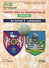 2000 ALL IRELAND U-21 FOOTBALL SEMI-FINAL WESTMEATH V LIMERICK