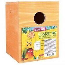 NICHOIR BOIS CLASSIC  200 oiseaux, cages, accessoires