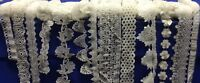 Hardy'sTextile Embroidered,Ribbon,Vintage,Wedding dress,Sewing craft Lace Trim