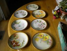 Antique Limoges 7 Fine Bone China Desert plates  the finest