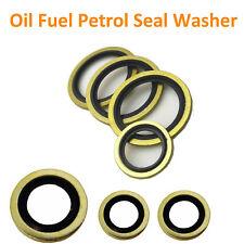 1 inch BSP Dowty Washers Seal Bond Imperial Hydraulic Fuel Petrol Oil 1//8 inch