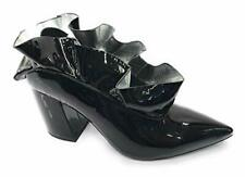 New Jeffrey Campbell patent leather sling back bootis UK6,5  RRP £145