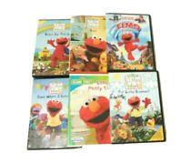Lot of 6 Sesame Street/Elmo DVD's