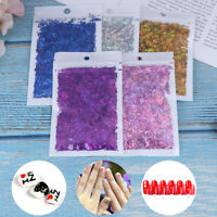 Laser Letter Nail Glitter Sequins Mixed Nail Flakes Manicure Nail Art DecoraGAS