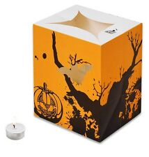 CANDLE BAGS YELLOW HALLOWEEN GATHERING - 5 Pack