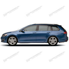 BODY SIDE Moldings PAINTED Trim Mouldings For: VW GOLF SPORTWAGEN 2015-2018