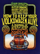 "EMPI VW BUG ""HOW TO KEEP YOUR VW ALIVE""  IDIOT BOOK   11-0990"
