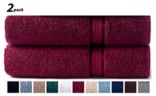 Bath Sheet 35x70 Inch Towel Cotton Craft Ultra Soft 2 Pack Oversized Extra Large