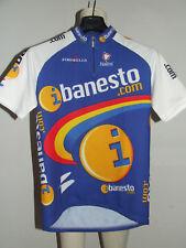 MAGLIA BICI CICLISMO SHIRT MAILLOT CYCLISM SPORT TEAM I BANESTO NALINI tg. L