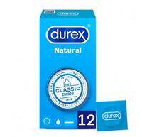 12x Preservativos Durex Natural Condones Sensibilidad Y Placer Condones Sexo