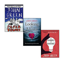 John Green Collection(An Abundance of Katherines, Looking For Alaska & Paper Tow