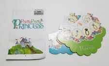 PRETTY PRETTY PRINCESS REPLACEMENT PIECES ONLY 3 BOARD PIECES AND INSTRUCTIONS