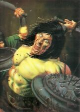Conan III All Chromium Promo Card Comic Images 1995