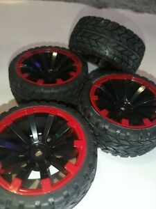 1/10 UK 12MM HEX RC ON ROAD CAR WHEELS TIRES TYRES FOAM INSERTS RUBBER