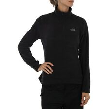Nueva camiseta para mujer North glaciar 1/4 Cremallera Chaqueta De Lana Face Negro Blanco Gris Púrpura