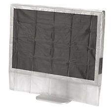"""Hama Universal Transparent 20""""/22"""" Widescreen Monitor & TV Dust Cover - NEW"""
