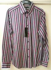 Marks and Spencer Striped Long Formal Shirts for Men