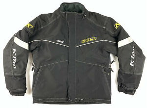 Klim Klimate Gore-Tex Snowmobile Motorcycle Jacket Parka Riding Sz Large L -Flaw