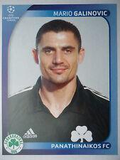 PANINI 384 Mario galinovic Panathinaikos UEFA CL 2008/09