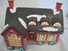 Dept 56 Snow Village Stonehurst House Lighted Building 5140-3