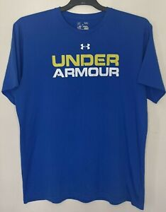 Under Armour Mens Size XL T-Shirt Loose Fit Fitness Top Short Sleeve Top Tee