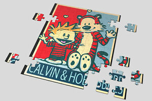 Heart 201/500/1000 Pieces Jigsaw Puzzles Calvin And Hobbes Funny Hope Poster