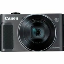 Fotocamera Canon PowerShot SX620 HS Macchina Fotografica Compatta Black Nero