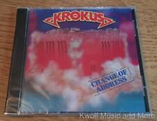 "KROKUS  ""Change Of Address""  Arista/74321 25868 2  Europe   NEW   (CD, 1995)"