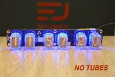IN-12 Nixie tube clock PCB by Ferradesign. Assembled, tested PCB WITHOUT TUBES.