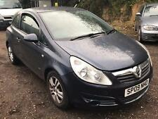 2009 Vauxhall Corsa 1.2i Active STARTS+DRIVES MOT SPARES OR REPAIRS