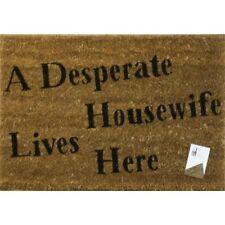 NOVELTY Desperate Housewife DOOR FLOOR MAT ENTRANCE INDOOR OUTDOOR COIR QUALITY