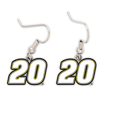New NASCAR ERIK JONES #20  EARRINGS