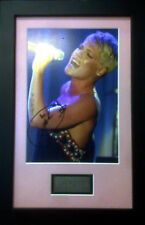 PINK PHOTO SIGNED AND FRAMED ALECIA BETH MOORE SIGNED
