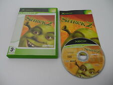 Shrek 2 (PAL) Xbox Microsoft Complete OVP CIB