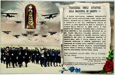 Cartolina Aviazione - Preghiera Degli Aviatori Alla Madonna Di Loreto - Non Viag