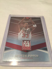 2014/15 Donruss Elite Basketball Scottie Pippen Chicago Bulls base card #81