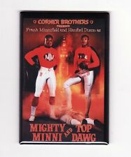 MINNIFIELD & DIXON / MIGHTY MINNI & TOP DOG COSTACOS POSTER MAGNET browns nike