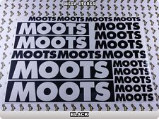 MOOTS Stickers Decals Bicycles Bikes Cycles Frames Forks Mountain MTB BMX 62N
