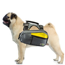2-in-1 Dog Harness and Hiking Dog Backpack For Outdoor Use Gear Travel Camping