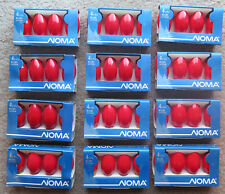 Lot 12 packs 1094R Red Noma C-9 1/4 Outdoor Bulbs for Vintage Christmas lights