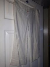 Ladies Jane Norman linen cropped pants. Size 10. BNWT.
